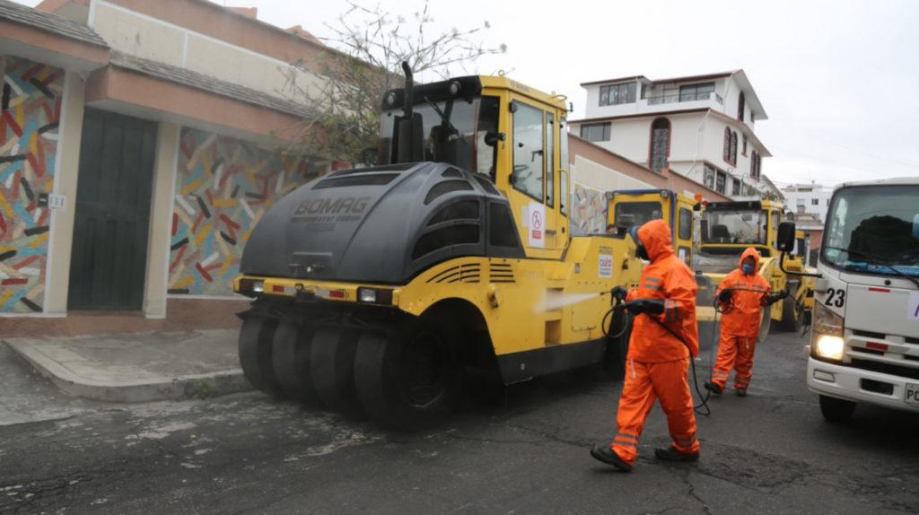 Contraloría: más irregularidades en la repavimentación de Quito