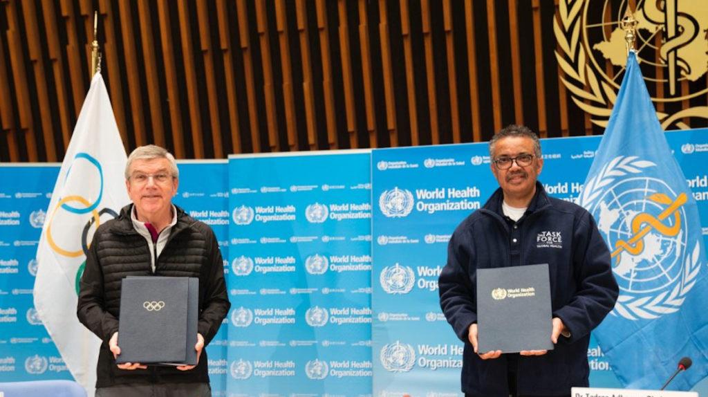 El COI y la OMS promoverán estilos de vida saludables