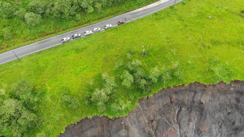 Infraestructura vial, petrolera y eléctrica, en riesgo por erosión del río Coca