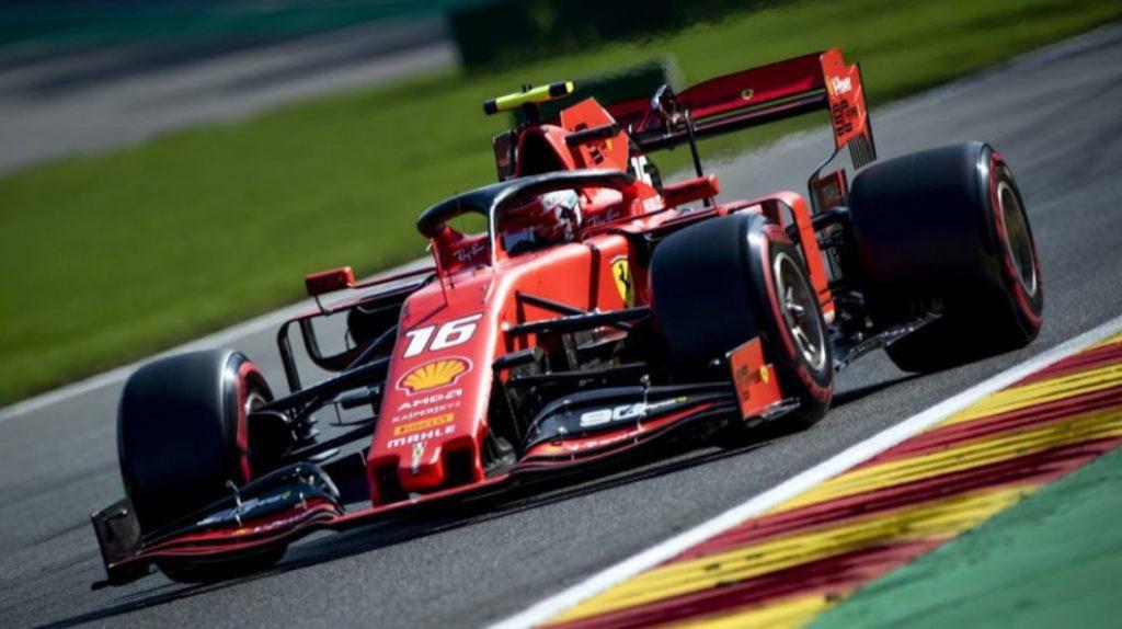 Ferrari le regaló Leclerc el auto de F1 con el que ganó carreras en 2019