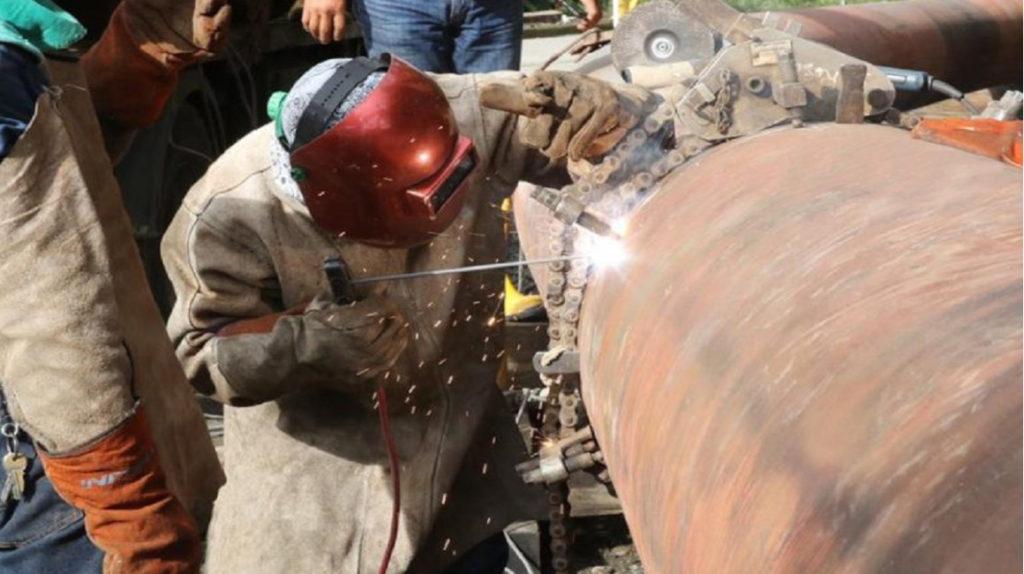 Petroecuador y OCP construyen variantes en oleoductos por avance de la erosión