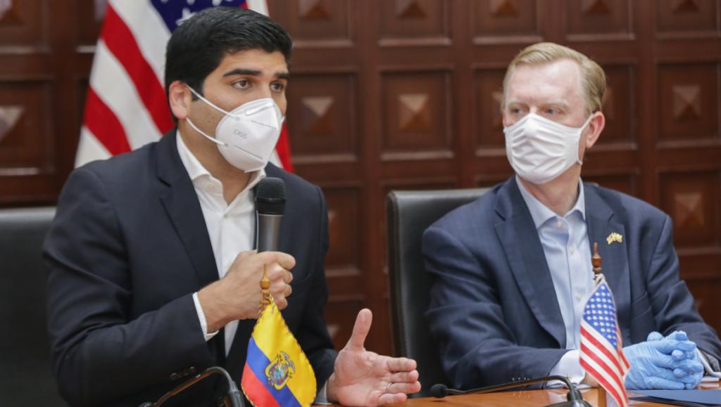 Usaid dona a Ecuador USD 8 millones para enfrentar la pandemia