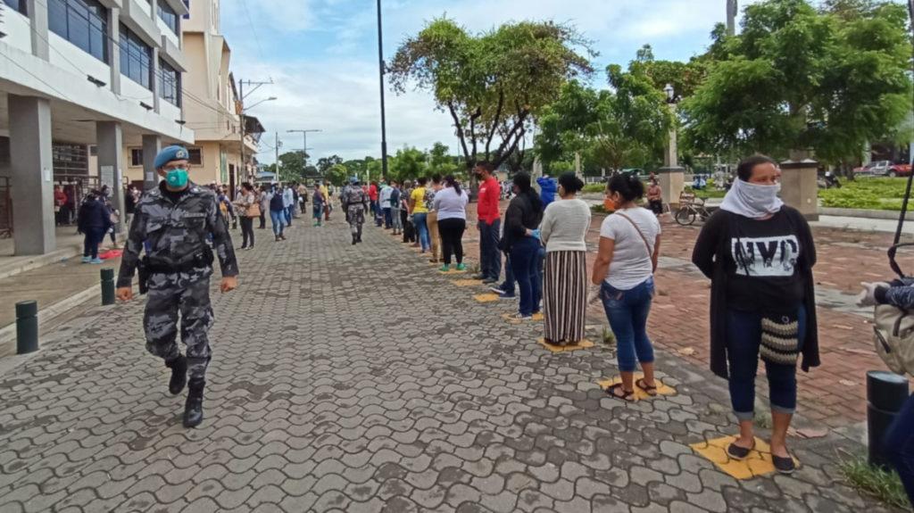 En tres cantones de Ecuador, el 'semáforo' ya está en color amarillo