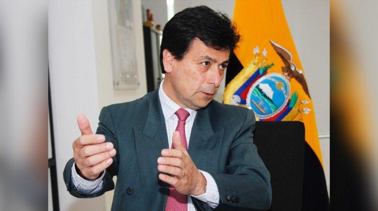El ingeniero Fernando Benalcázar asumió el Viceministerio de Minas el pasado 17 de marzo de 2020.