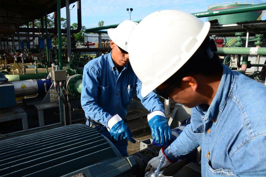 Producción de petróleo se recupera pero está por debajo de la de 2019