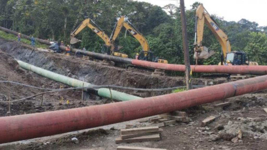 Casi un mes tardó la reparación del Sistema de Oleoducto Transecuatoriano