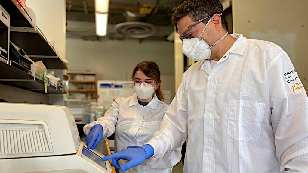 Un ecuatoriano y una colombiana crean prueba para detección del COVID-19