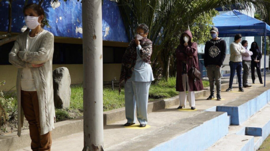 Casos de Covid-19 en la Empresa de Agua Potable de Quito
