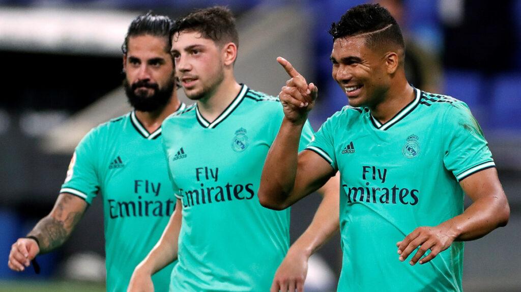 Real Madrid venció a Espanyol y es el único líder de La Liga