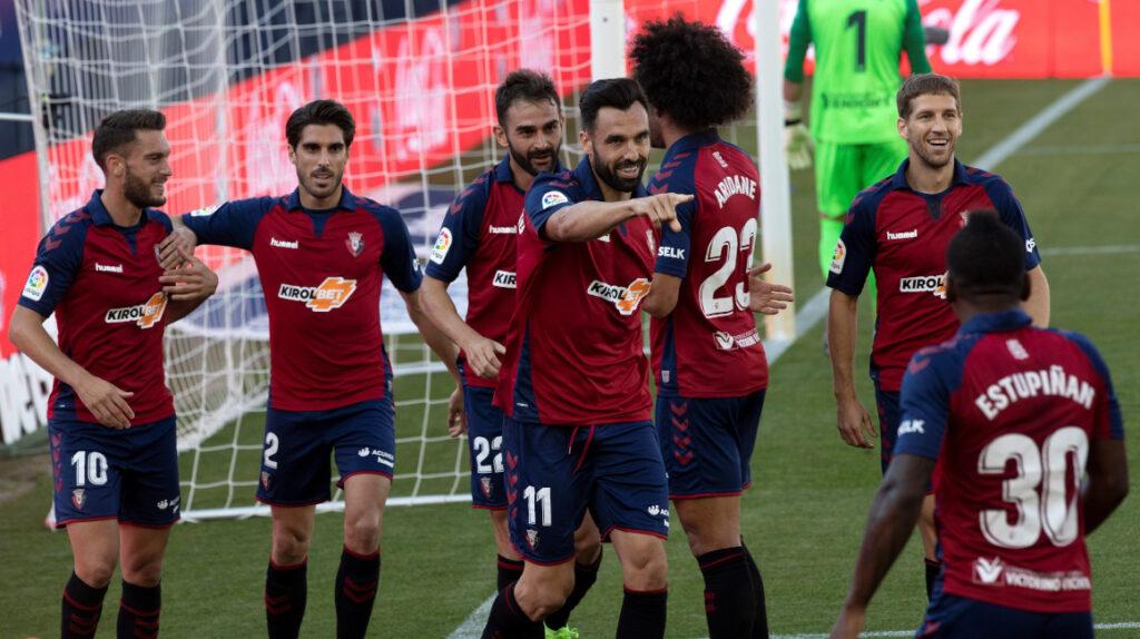 Osasuna ganó de local a Leganés con Pervis Estupiñán como titular