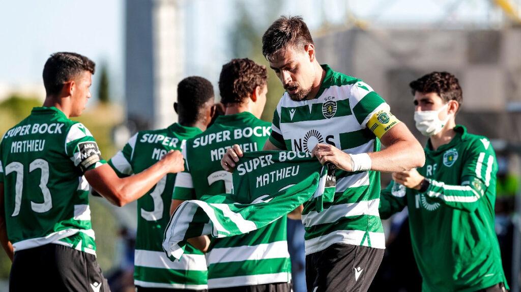 Sporting de Lisboa goleó de visitante con Gonzalo Plata como titular