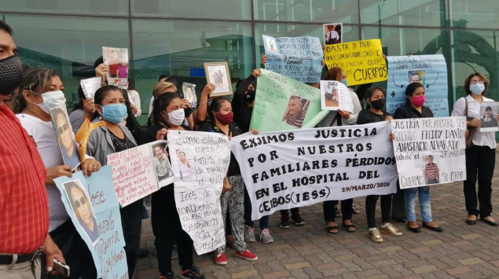 Juez declara vulneración de derechos por el extravío de cuerpos durante la pandemia
