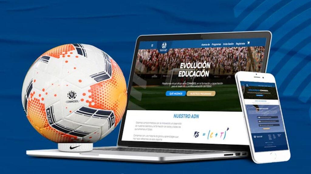 Conmebol lanza 'Evolución Educación', una nueva plataforma digital