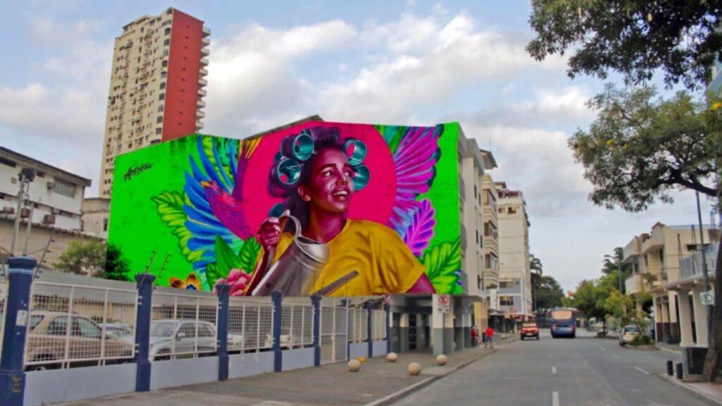 Arte urbano para transformar a Guayaquil, desde lo digital