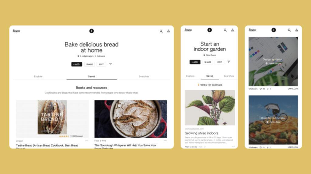 Keen, la aplicación de Google que pretende destronar a Pinterest