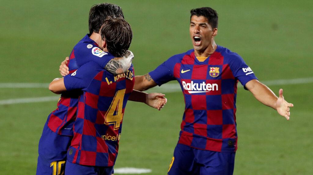 El FC Barcelona venció a Athletic de Bilbao y recuperó la punta de La Liga