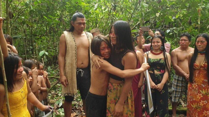 Otro instante del ritual Kamunguishi.