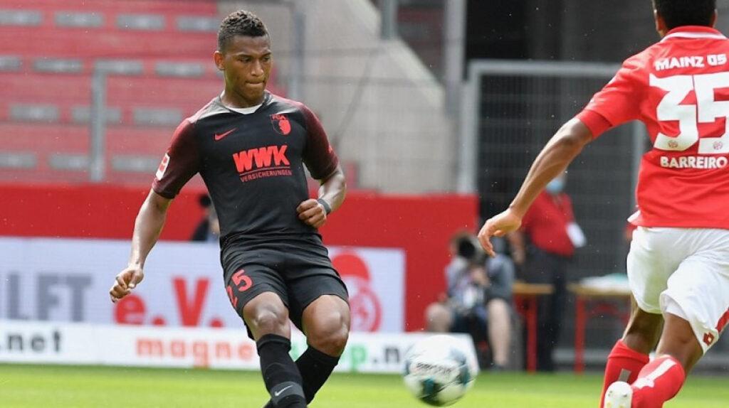 Augsburgo empata con el Düsseldorf con Carlos Gruezo de titular