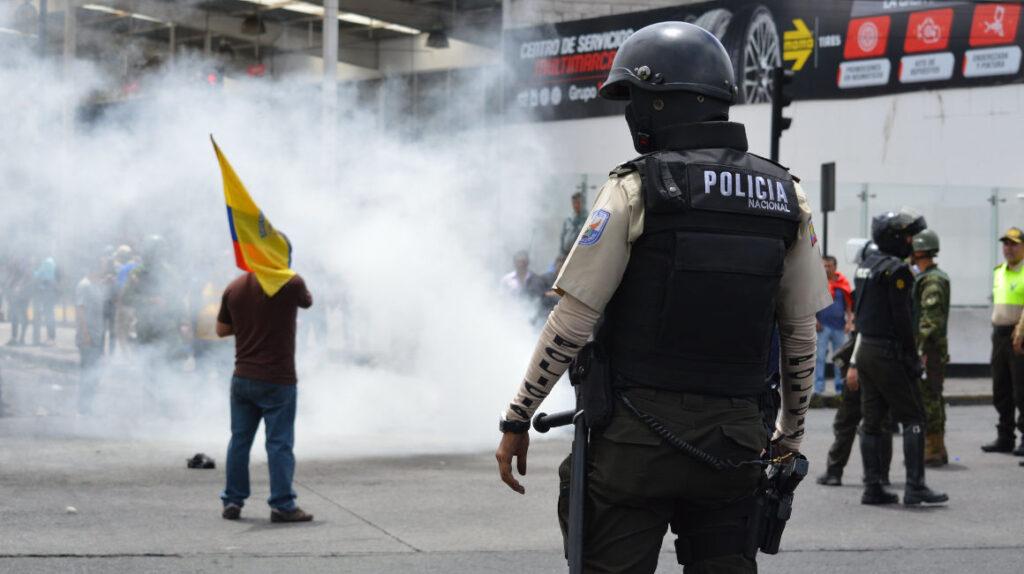 """Reformas al COIP: La Policía puede causar """"lesión, daño o muerte a otra persona"""""""