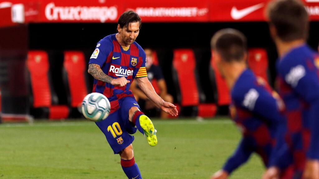 FC Barcelona empató como visitante frente a Sevilla; Saverio no debutó