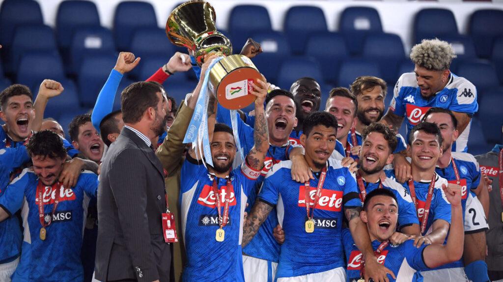 Por penales, Nápoles se corona campeón de la Copa Italia