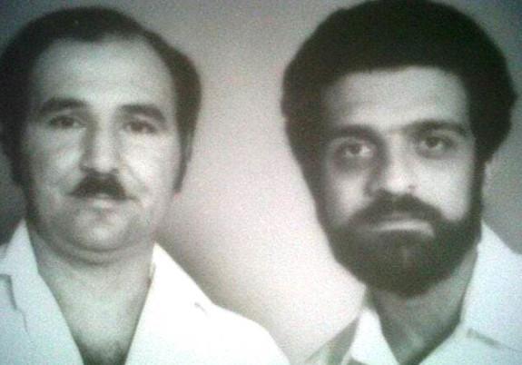 Abdalá Bucaram y Alfredo Adum en una foto de archivo de 1984.