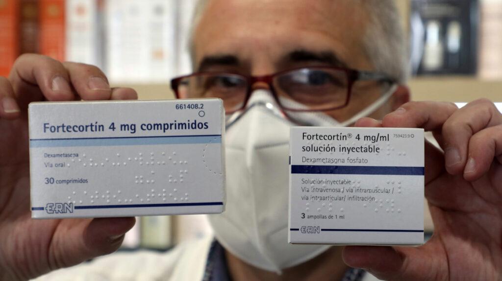OMS: La dexametasona solo debe usarse en casos graves