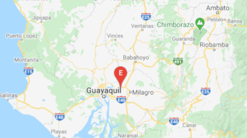 Sismo de 3,79 grados se sintió en Yaguachi, cerca de Guayaquil