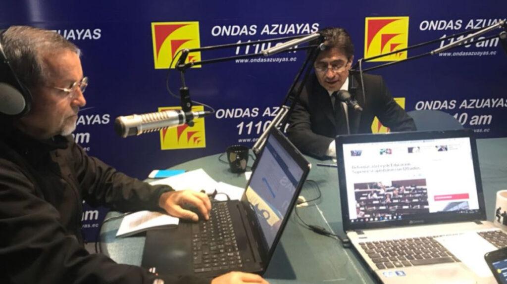 Con Ondas Azuayas se apaga una importante voz del periodismo cuencano