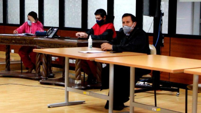 El conjuez Iván León durante la audiencia de recusación en su contra por el caso Balda, el 15 de junio de 2020.