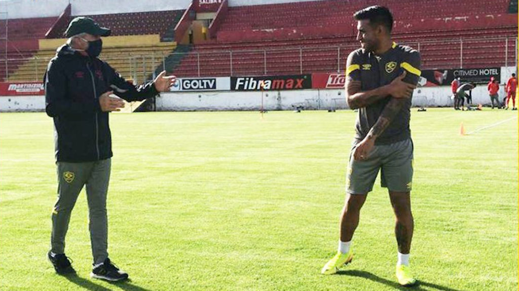 Darío Tempesta dirigió su primer entrenamiento con trabajos aeróbicos