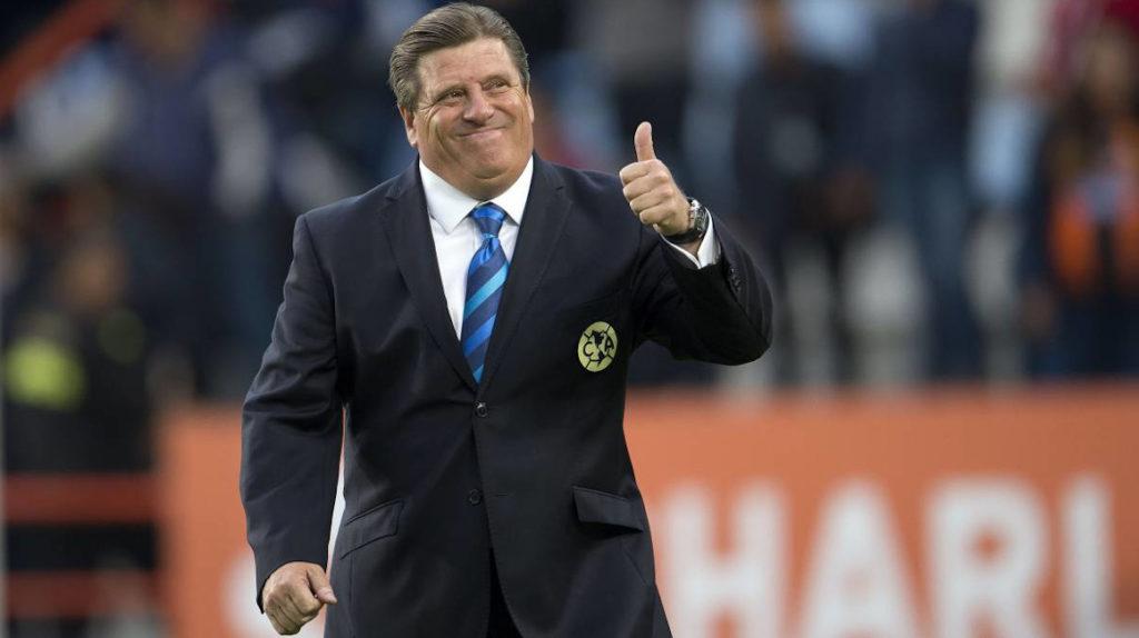 El América renovó contrato con Miguel el 'piojo' Herrera hasta 2024