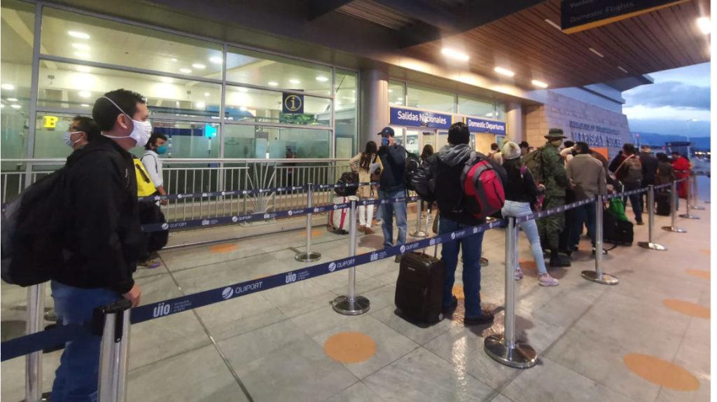 Guayaquil, Cuenca y Manta reactivan sus vuelos comerciales
