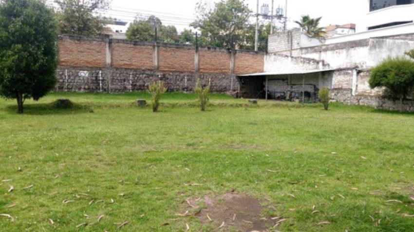 La foto corresponde al Conjunto Millenium, ubicado en la parroquia de Llano Chico, en Quito, donde Inmobiliar tiene derecho a un espacio que no ha sido construido aún.