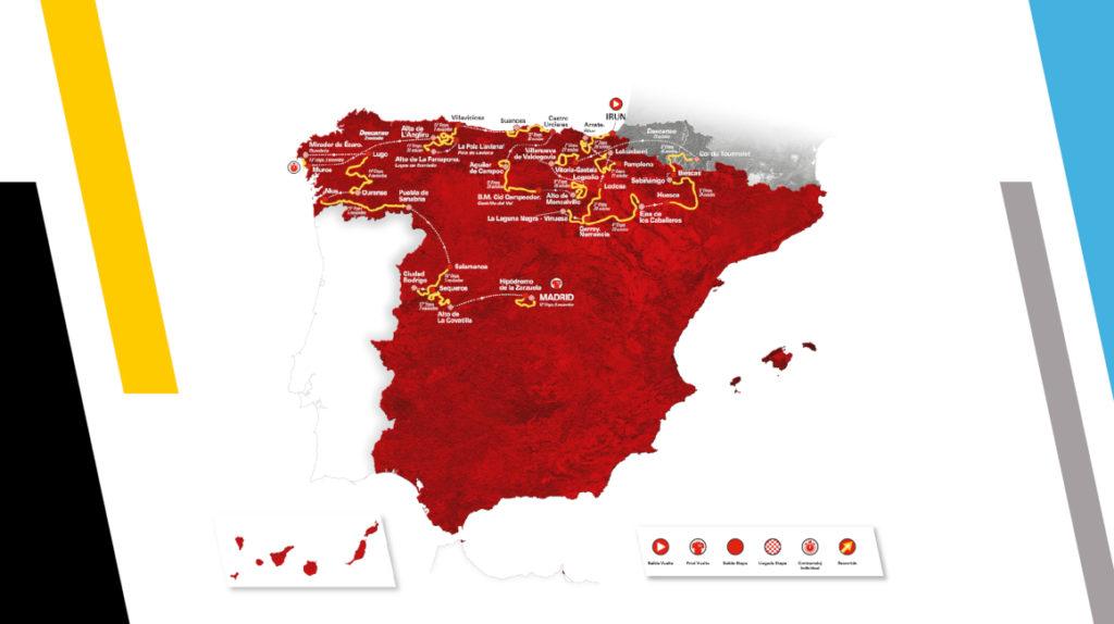 La Vuelta a España 2020 tendrá 18 etapas, debido al coronavirus
