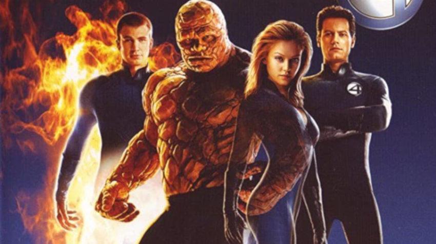 Elenco de la película 'Los 4 Fantásticos' estrenada en 2005.