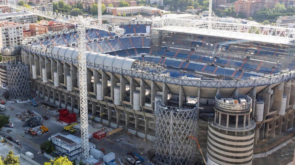 El Real Madrid muestra los avances del nuevo Santiago Bernabéu