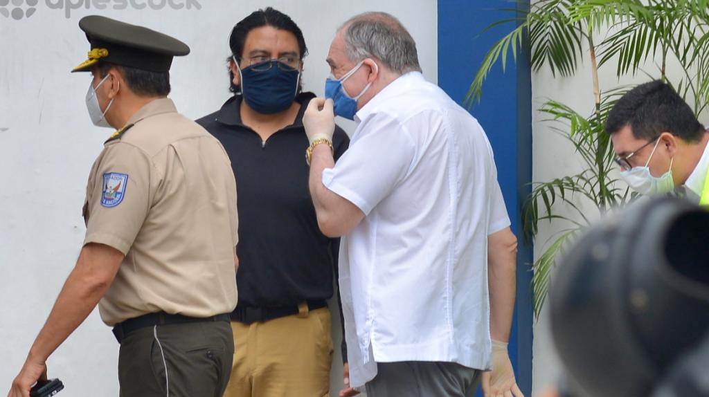 Abdalá Bucaram rindió su testimonio ante la Fiscalía
