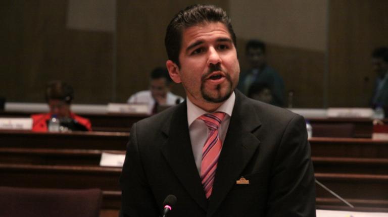 Dalo Bucaram cuando era asambleísta el 29 de julio de 2010.