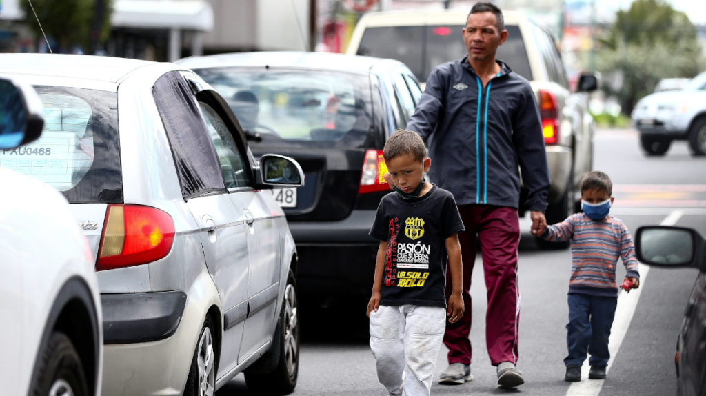 Unos 200 menores desaparecieron durante la pandemia en Ecuador