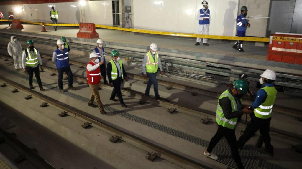 Metro de Quito funcionaría desde el primer trimestre de 2021