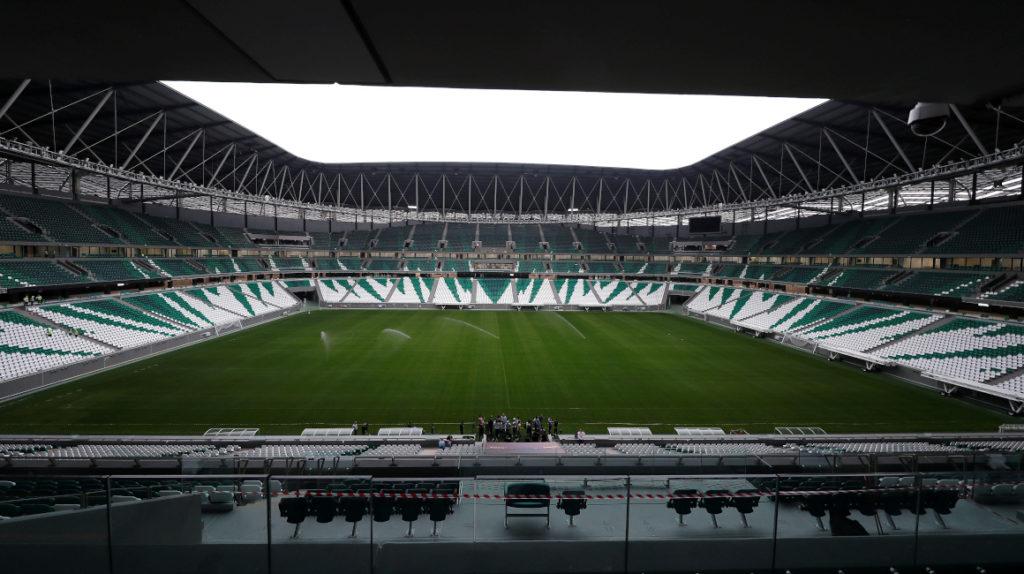Catar inauguró el tercer estadio del Mundial a pesar de la crisis