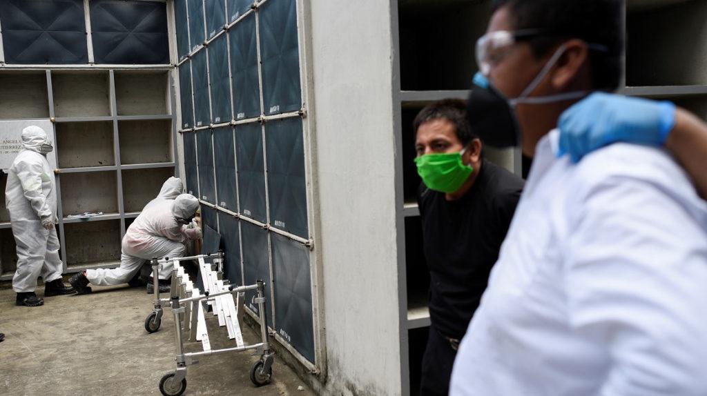Se disparan en Guayaquil los casos de muerte por Covid-19: municipio