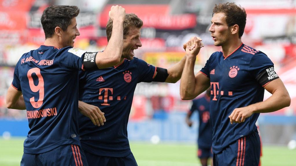 El Bayern Munich golea al Leverkusen y da un paso más hacia el título