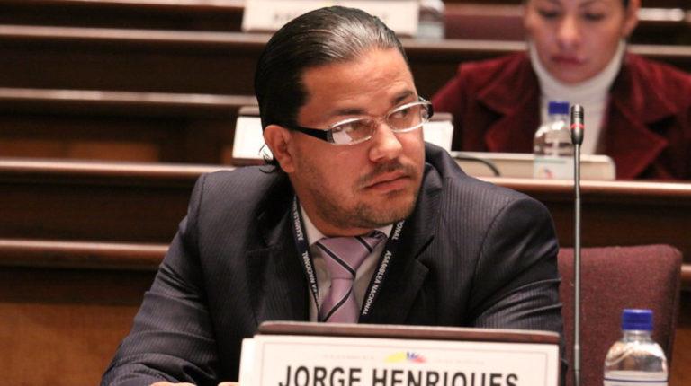 Jorge Henriques durante la sesión del Pleno 57 del 23 de noviembre de 2010.