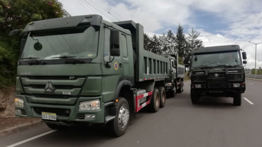 Luego de 11 meses se retira material minero de La Merced de Buenos Aires