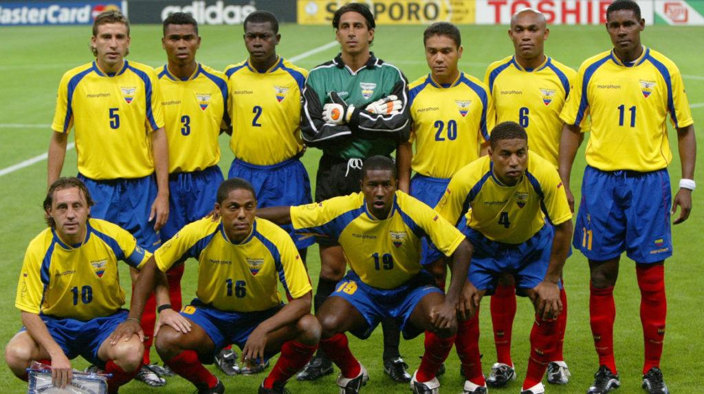El 3 de junio de 2002, Ecuador jugó su primer partido en un Mundial