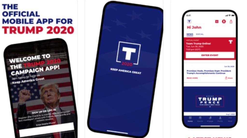 La campaña de Trump se enfocará en una 'app' tras tensiones con Twitter