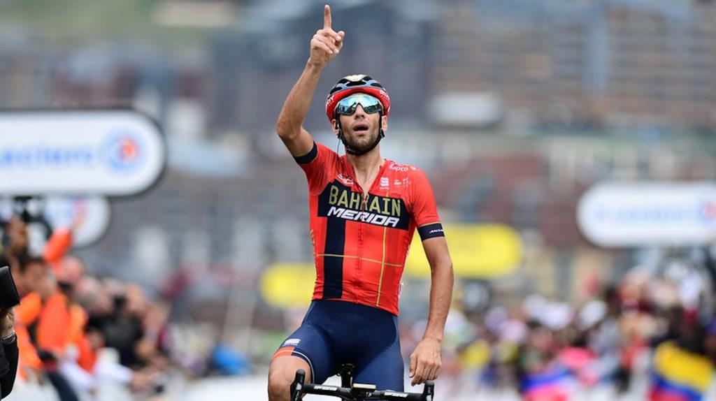 Nibali irá al Giro de Italia a quitarle la maglia rosa a Carapaz