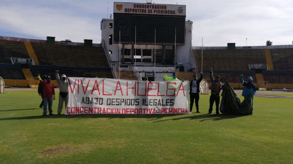 Concentración Deportiva de Pichincha terminó contrato con 56 empleados